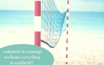 Vakantie is coming! Ruimte voor saaiheid en verveling?